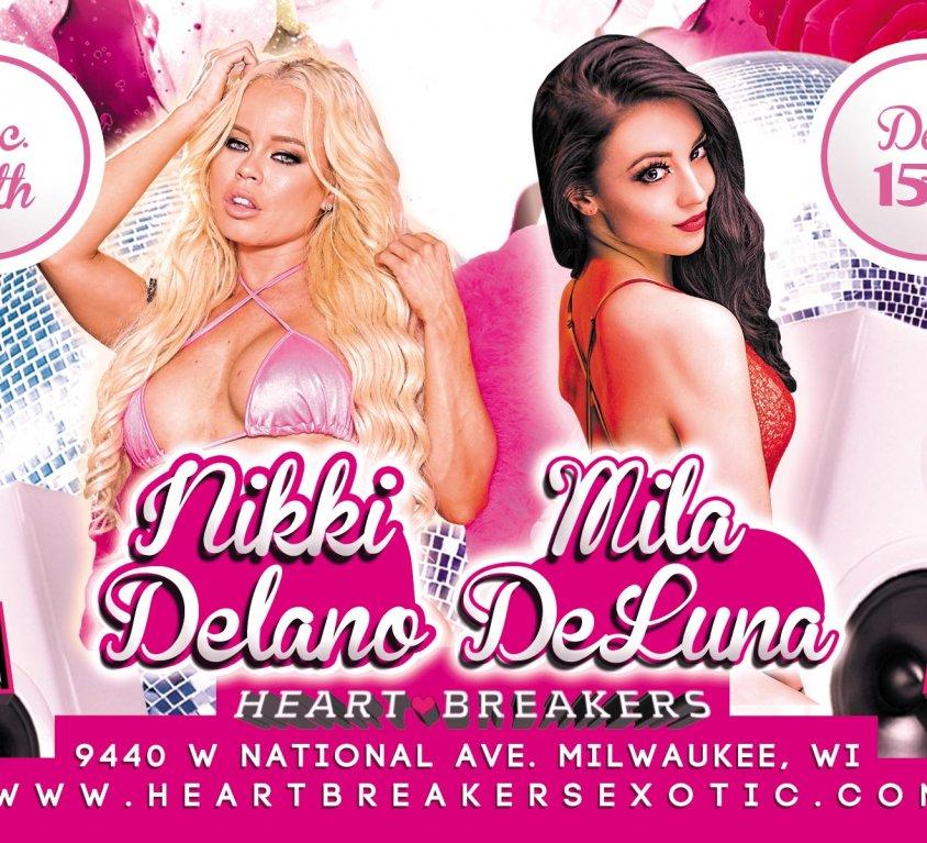 Nikki Delano & Mila DeLuna